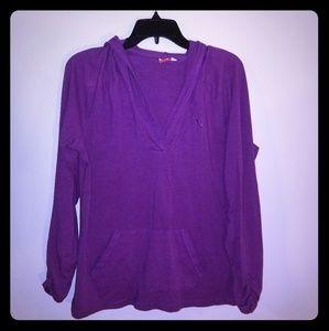 Puma hooded shirt.  Purple